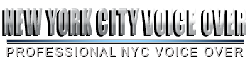 Contact New York City Voice Over offering professional NYC voice over and NYC voice acting by New York voice actor online.